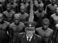 SOUTH AFRICA. Hamanskraal. 1978. Colonel S.J. MALAN, Director of the Police School for Black people, with trainees.Contact email: New York : photography@magnumphotos.com Paris : magnum@magnumphotos.fr London : magnum@magnumphotos.co.uk Tokyo : tokyo@magnumphotos.co.jpContact phones: New York : +1 212 929 6000 Paris: + 33 1 53 42 50 00 London: + 44 20 7490 1771 Tokyo: + 81 3 3219 0771Image URL: http://www.magnumphotos.com/Archive/C.aspx?VP3=ViewBox_VPage&IID=2S5RYD1H1TDN&CT=Image&IT=ZoomImage01_VForm